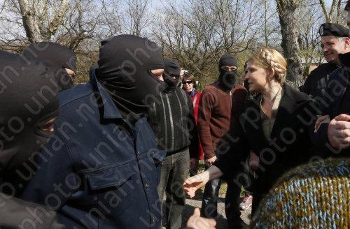 Бывшая заключённая Тимошенко решила создавать собственные отряды боевиков