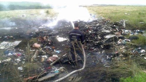 "Крушение малайзийского Boeing на ""Украине"" (Видео, фото)"
